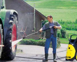 Cách sử dụng, điều chỉnh áp lực máy rửa xe