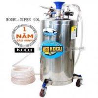 Bình bọt inox 304 bình cao KOCU INOX SUPER 90L