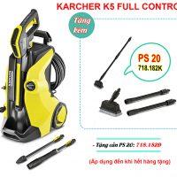 Máy phun xịt áp lực Karcher K5 Full Control