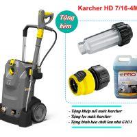 Máy phun áp lực Karcher HD 7/16-4 M + 1 Hose Coupling + Refilter (9.653-226.0)