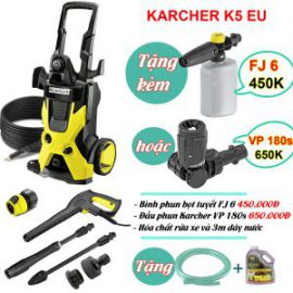 Máy phun áp lực Karcher K 5 EU (1.180-633.0)