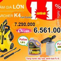 Máy phun áp lực Karcher K4 Full Control (1.324-000.0)