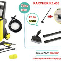 Máy phun rửa cao áp Karcher K3.450 *KAP (1.601-756.0)