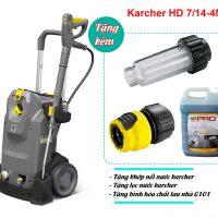 Máy phun áp lực Karcher HD 7/14-4 M + 1 Hose Coupling + Refilter (9.653-224.0)